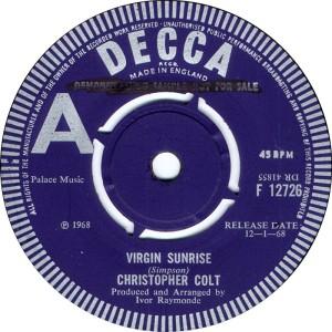 Christopher Colt - Virgin Sunrise