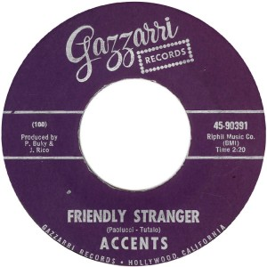 Friendly Stranger