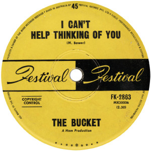 The Bucket - Can't Help Thinking Of You