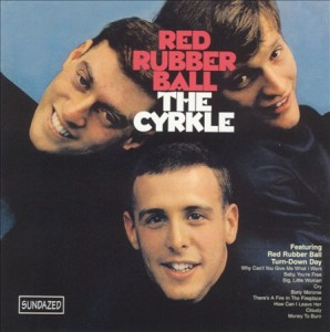 cyrkle red rubber ball