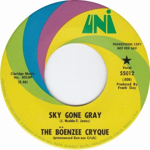 The Boenzee Cryque - Sky Gone Gray