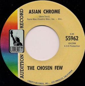 The Chosen Few - Asian Chrome