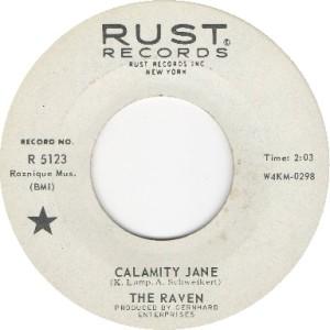 The Ravens - Calamity Jane