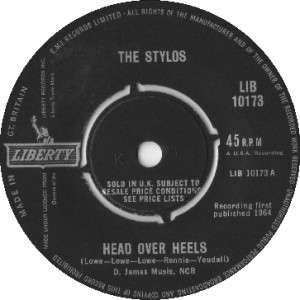 The Stylos - Head Over Heals