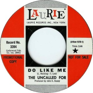 The Uncalled For - Do Like Me
