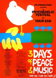Psychedelicized Woodstock
