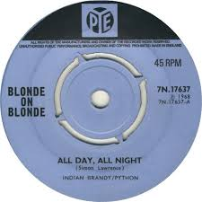 Blonde On Blonde - All Day, All Night